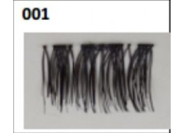 Ресницы на одном магните №01