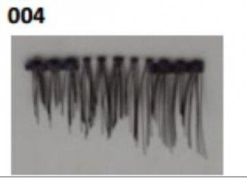 Ресницы на двух магнитах №004