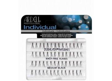 Ardell Duralash Medium Black Knot-Free Пучки ресниц безузелковые средние черные