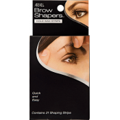 Полоски с воском для придания формы бровям   Ardell Brow Shapers Cold Wax Strips
