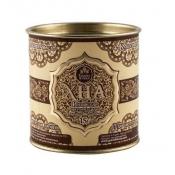 Индийская хна для бровей и биотату Grand Henna (Viva) + кокосовое масло (коричневая) 15г