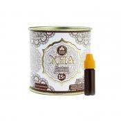 Индийская хна для бровей и биотату Grand Henna (Viva) + кокосовое масло (светло-коричневая) 15г