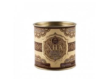 Индийская хна для бровей и биотату Grand Henna (Viva) + кокосовое масло (шоколадно-коричневая) 30г