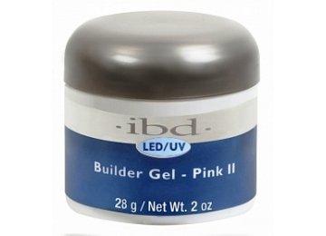 IBD LED/UV Builder Pink II  Gel  56 мл. – конструирующий розовый (холодный) гель