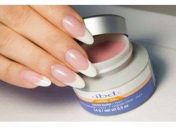 IBD LED/UV Builder Pink II  Gel  14 мл. – конструирующий розовый (холодный) гель