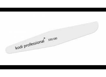 Пилка для ногтей Ромб White 100/180 KODI