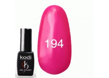 Гель-лак №194 Ярко-розовый плотный, эмаль 8 мл