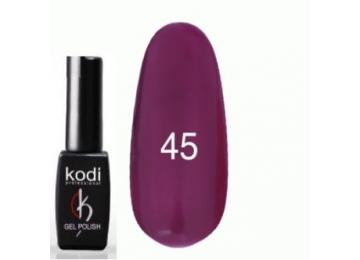Гель-лак №045 Темно-фиолетовый, эмаль 8 мл