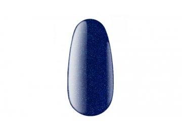 Гель-лак №10B имеет текстуру крем, цвет – синий с шиммером 8 мл