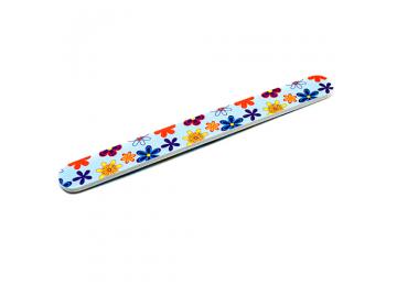 Пилка цветная для натуральных ногтей 240*240