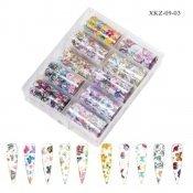 Набор фольги для дизайна XKZ-09-03