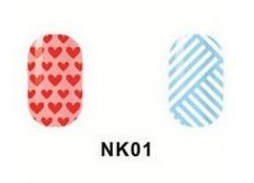 Виниловые трафареты для маникюра NK01