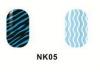 Виниловые трафареты для маникюра NK05