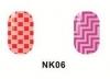 Виниловые трафареты для маникюра NK06
