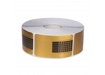 Формы для наращивания узкие-золото 500 шт Арт 8053