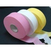 Бумага для депиляции розовая/синяя/белая с перфорацией 7,5смх100м рулон