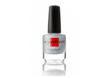 Top Coat Holographic Silver 12 ml