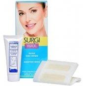 Набор для удаления волос на лице (полоски с воском + крем) / Assorted Honey Facical Wax Strips art.82516