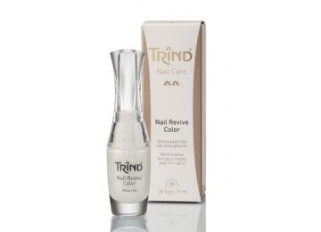 Укрепитель ногтей перламутр белый TRIND Nail Revive Pure Perl