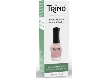 Укрепитель ногтей розовый перламутр TRIND Nail Repair Pink Pearl
