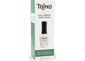 Укрепитель ногтей белый перламутр TRIND Nail Repair Pure Pearl