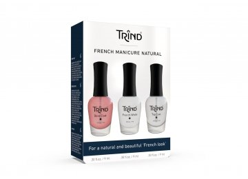 French Manicure Set Red