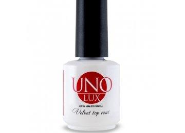 Uno Lux Velvet Top Coat Верхнее покрытие с бархатным эффектом 10 мл