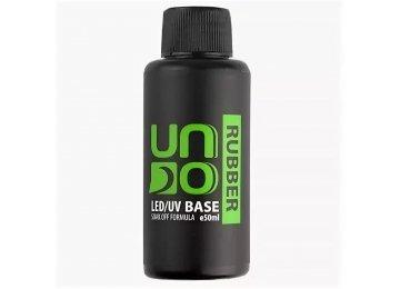 Uno Rubber Base 50 мл - Каучуковое базовое покрытие для гель-лака