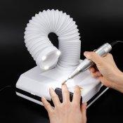 Маникюрный пылесос 60 Вт SunNail c трубой и  LED подсветкой