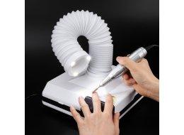 Маникюрный пылесос 60 Вт с вытяжкой и LED подсветкой