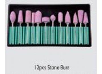 "Набор насадок 12 шт ""Stone Burr"""
