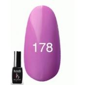 Гель-лак №178 Фиолетово-баклажанный 8 мл